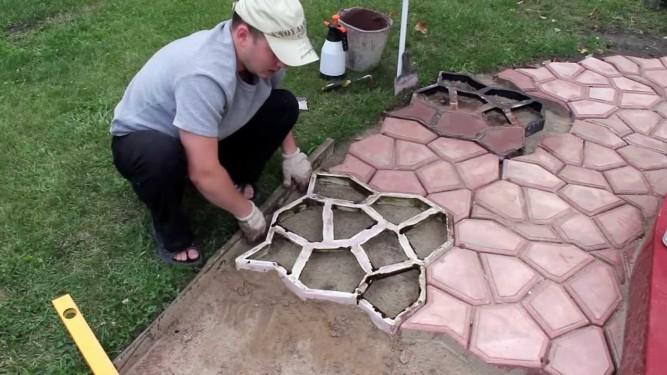 Изготовления тротуарной плитки