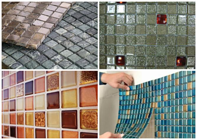 Разновидности мозаичной плитки
