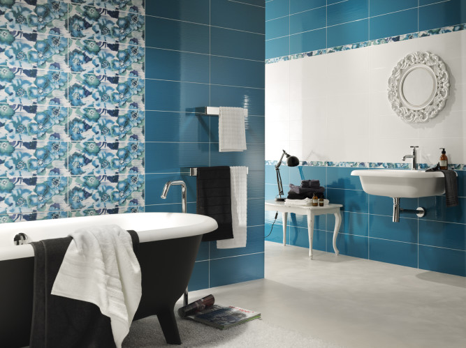 Керамическая плитка - лучший вариант отделки ванной
