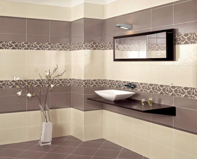 Толщина клея зависит от габаритов плитки и площадь поверхности