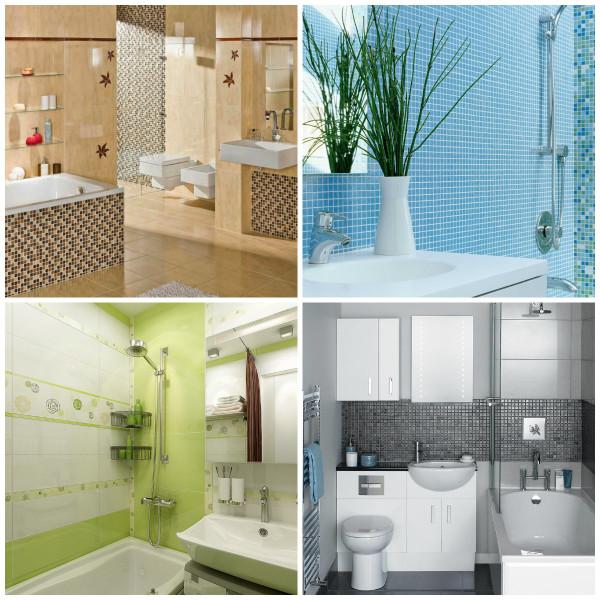Важно подобрать правильное сочетание цветов ванной комнате