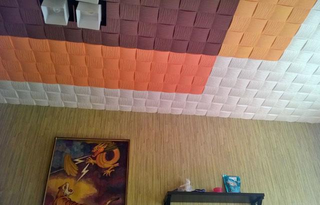 Обновление дизайна потолка