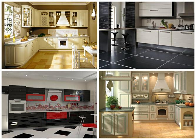 Варианты стилистического оформления кухни
