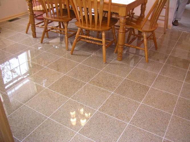 Размер плитки зависит от площади помещения