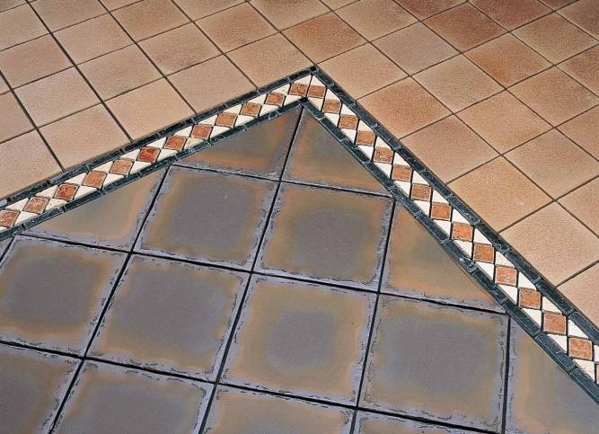 Вес плитки зависит от размеров элемента