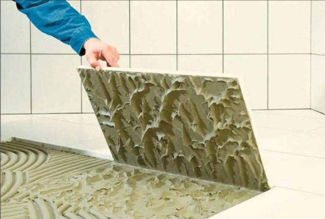 Основные характеристики плиточного клея