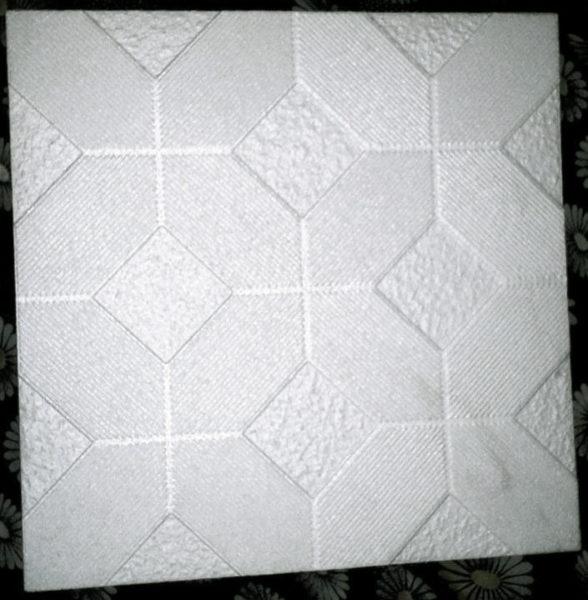 Штампованная потолочная плитка