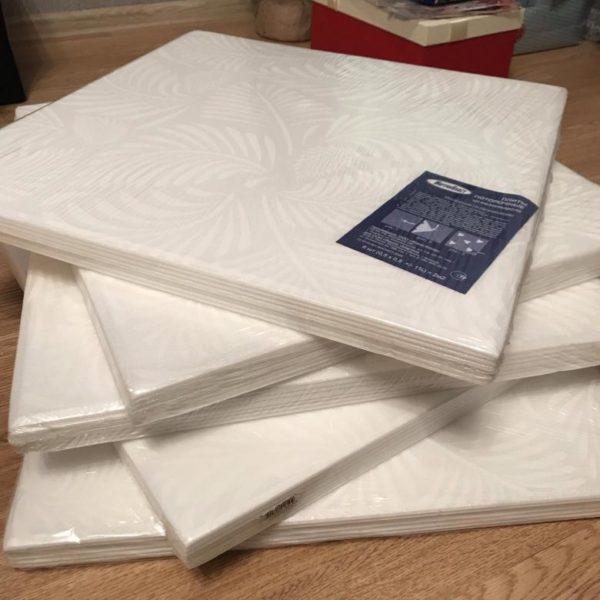 Пенополистирольные панели 50х50 в упаковке