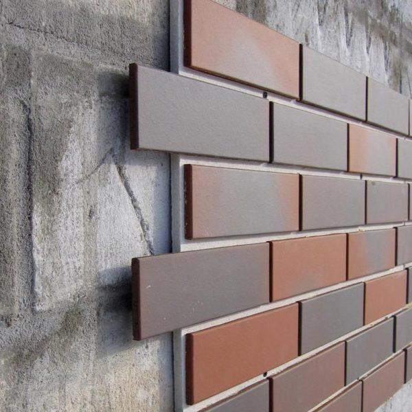 Фасадные панели с имитацией кирпичной кладки