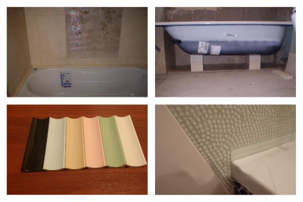 Керамический уголок для ванной