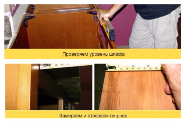Столешница из плитки