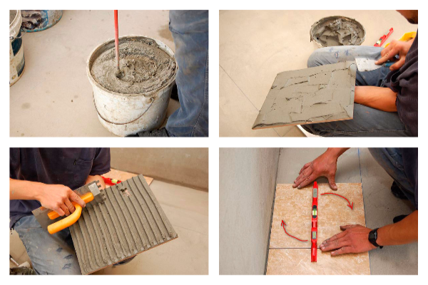 Как класть плитку на пол правильно своим руками
