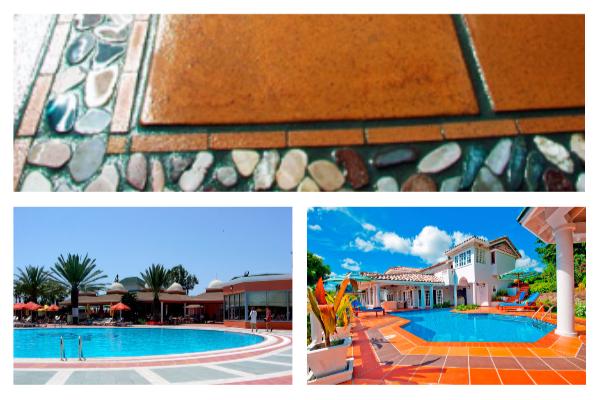 Плитка и мозаика для бассейна