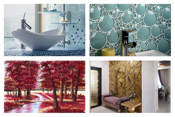 Топ 7 видов необычной мозаики