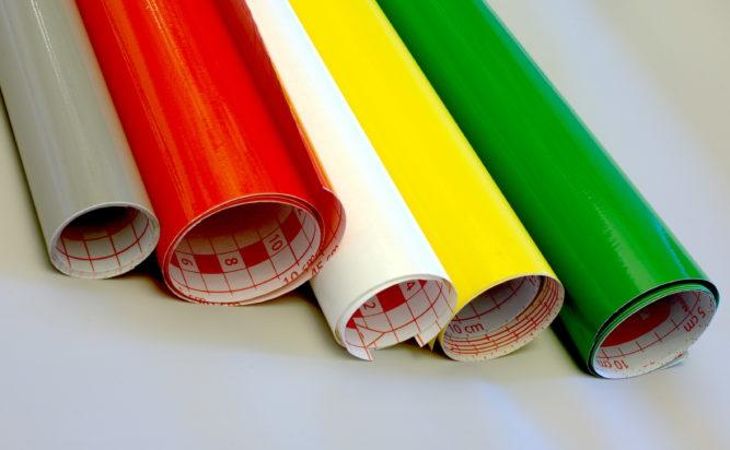 Цветная самоклеящаяся плёнка