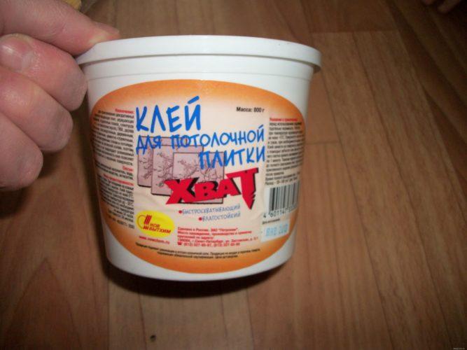 Клей-мастика для потолочной плитки