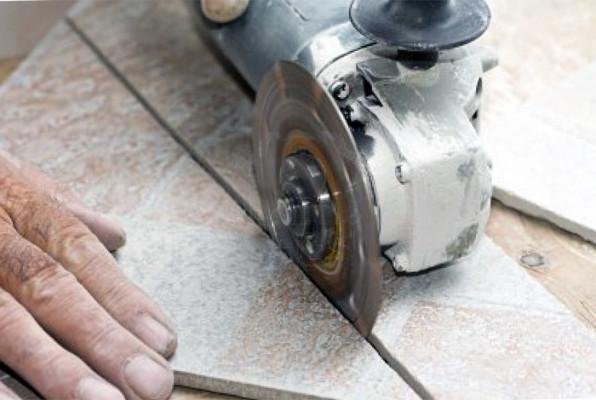 как разрезать керамогранитную плитку
