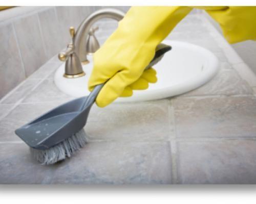 чем почистить кафельную плитку в ваннои