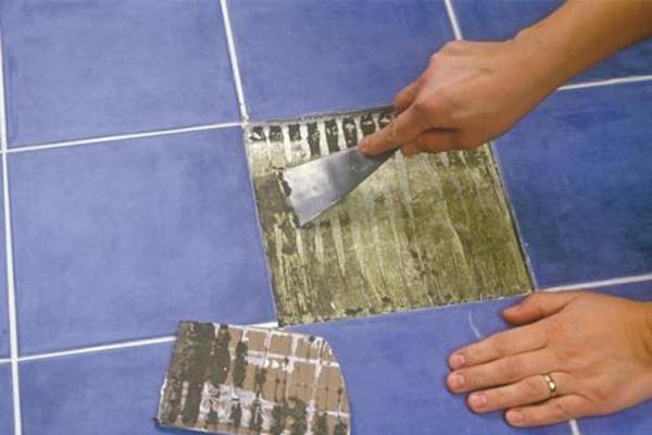 реставрация кафельнои плитки своими руками