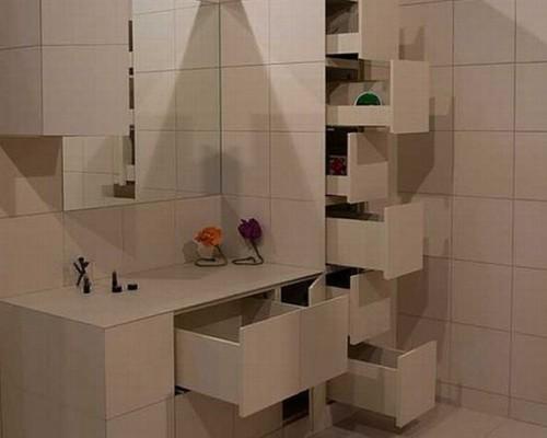 Шкаф в ванной комнате