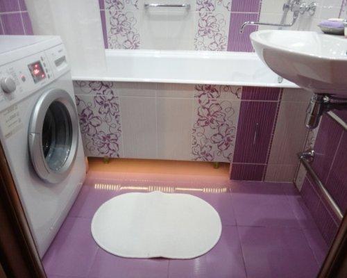 цвет маленькой ванной комнаты фото