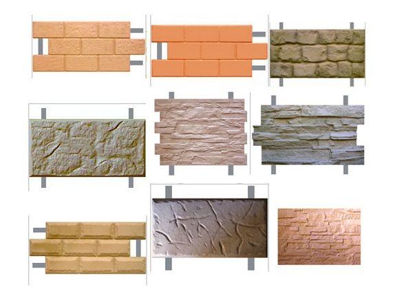 Плитки фасадные
