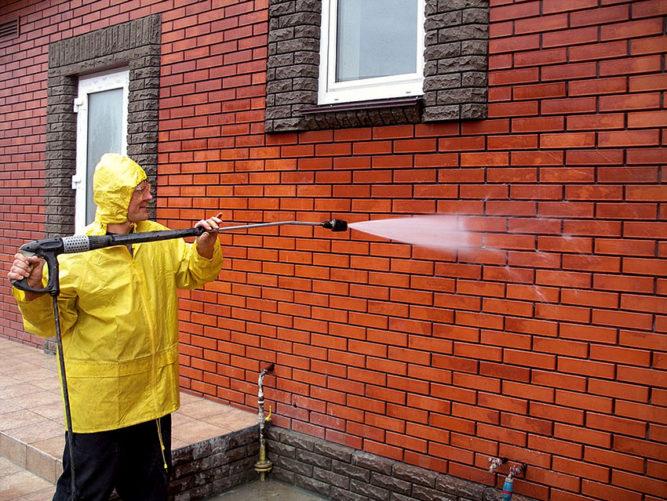 Гидрофобизация фасадной плитки