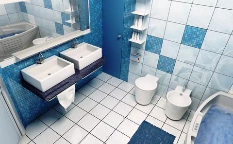 кафель на гипсокартон в ваннои