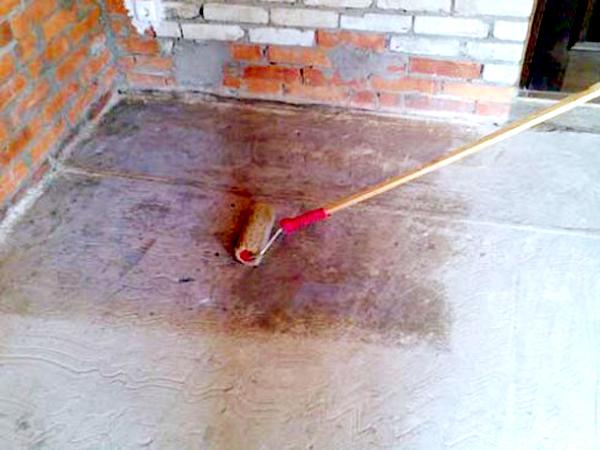 грунтовка стен перед укладкой плитки