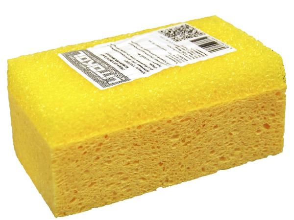 Целлюлозно - синтетическая губка для удаления остатков затирки