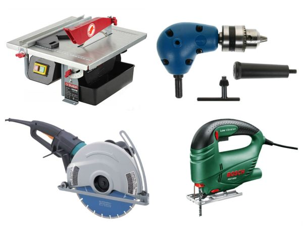 Основные типы инструментов для резки плитки