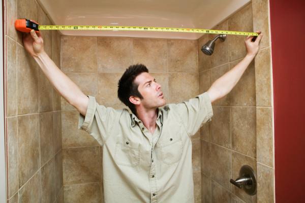 как посчитать количество плитки для ванной