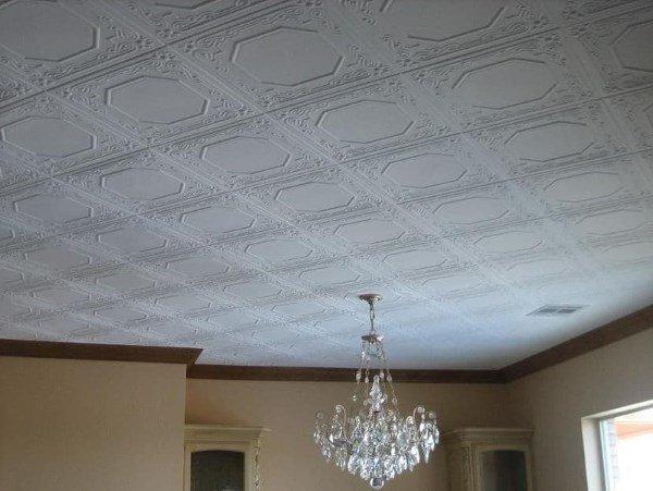 Интересный вариант потолочной плитки