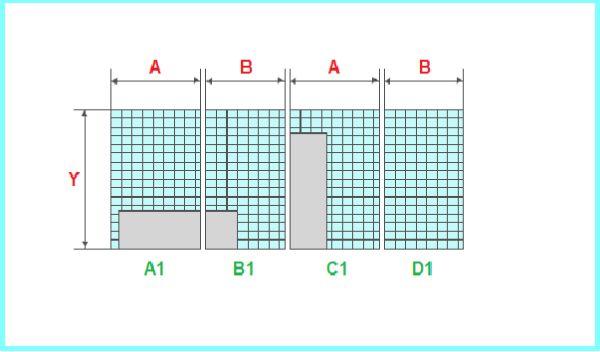 Схема расчета керамической плитки
