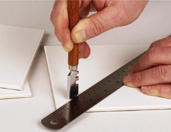 Керамогранит стеклорезом не режут