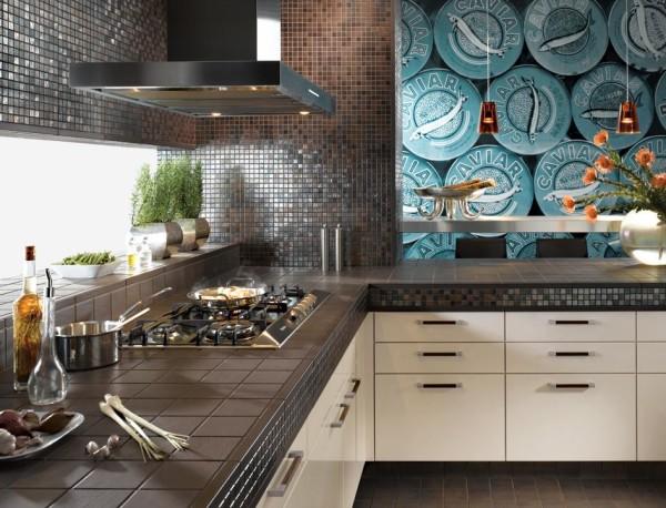 Новые вариации кухонного фартука