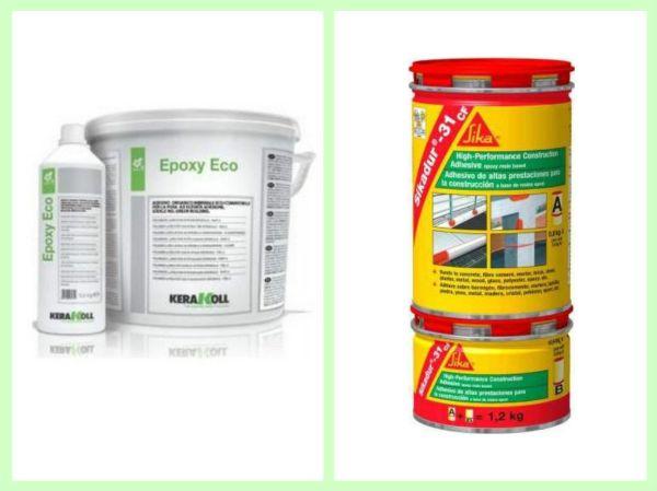 Эпоксидные клеи - Sikadur 31 cf и Epoxy Eco,