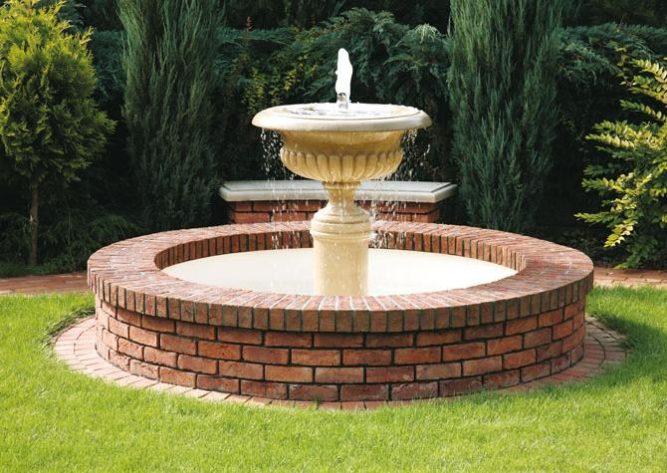 Декорирование фонтана
