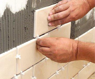 технология укладки керамическои плитки на стену