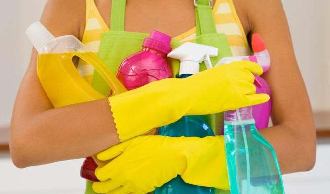 Специализированные средства для мытья кафеля