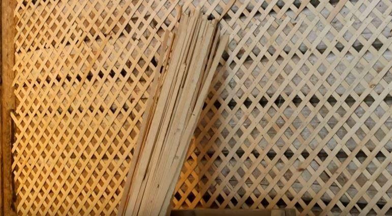 Деревянная дранка для штукатурки