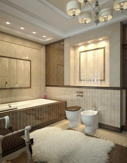 Неоклассика в вашей ванной