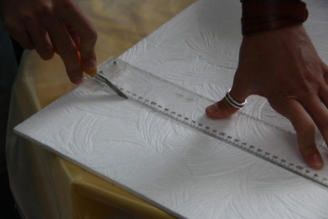 Подрезка боковой панели