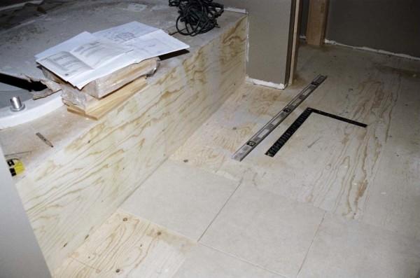 подготовка пола под укладку плитки