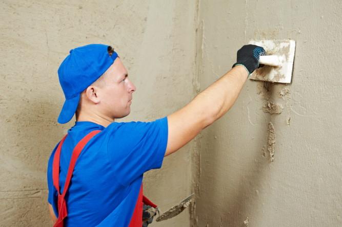 Подготовка стен под укладку плитки