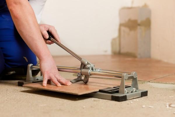 как отрезать кафельную плитку