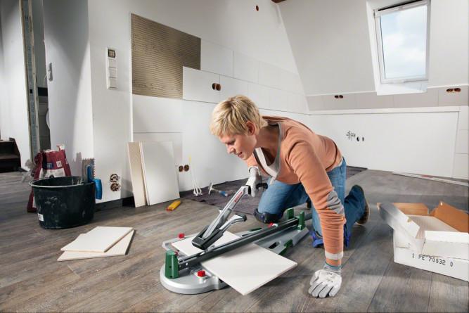 Ручной плиткорез для домашнего использования