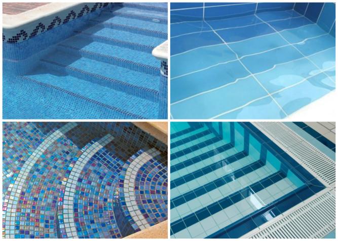 Примеры облицовки бассейна