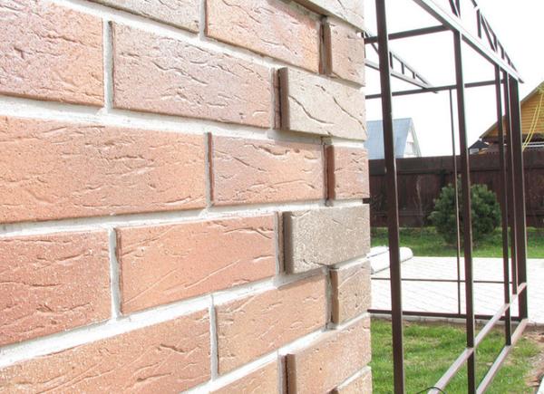 Облицванный фасад керамической плиткой