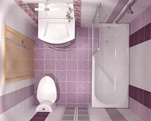 дизайн ванной комнаты с совмещенным санузлом фото